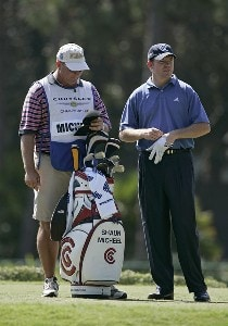 Shaun Micheel during the first round of the Chrysler Championship at the Westin Innisbrook Resort on the Copperhead Course in Palm Harbor, Florida on October 26, 2006. PGA TOUR - 2006 Chrysler Championship - First RoundPhoto by Michael Cohen/WireImage.com