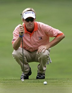 Brett Quigley during the second round of the Booz Allen Classic at TPC Avenel in Potomac, Maryland, on June 23, 2006.Photo by Hunter Martin/WireImage.com