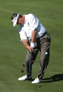 Bobby Wadkins in action during the second tound of the 2006 Charles Schwab Cup Championship at the Sonoma Golf Club in Sonoma, California on October 27, 2006. Champions Tour - 2006 Charles Schwab Cup Championship - Second RoundPhoto by Steve Grayson/WireImage.com