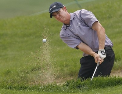 Darron Stiles during the first round of the Buick Championship held at TPC River Highlands in Cromwell, Connecticut, on June 29, 2006.Photo by Jim Rogash/WireImage.com