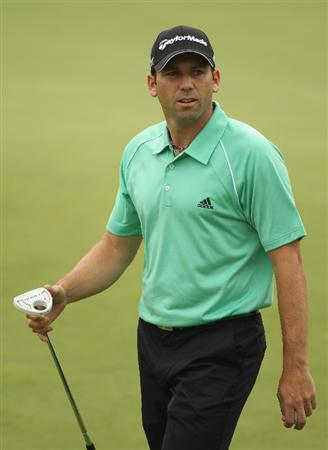 CHENGDU, CHINA - APRIL 21:  Sergio Garcia of Spain during first round of the Volvo China Open at Luxehills Country Club on April 21, 2011 in Chengdu, China.  (Photo by Ian Walton/Getty Images)