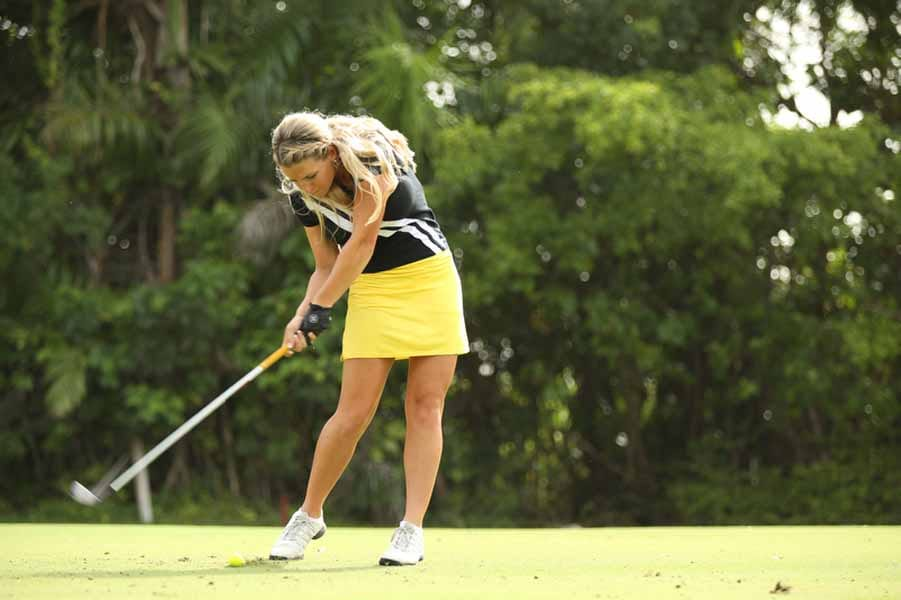 Meghan Hardin Chipping Away on Big Break Academy