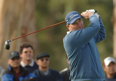 Duffy Waldorf in action during the first round of the 2006 Nissan Open, Presented by Countrywide at Riviera Country Club in Pacific Palisades, California February 16, 2006.Photo by Steve Grayson/WireImage.com