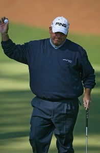 Mark Calcavecchia during the third round of the 2007 Masters at the Augusta National Golf Club in Augusta, Georgia, on April 7, 2007. The 2007 Masters - Third RoundPhoto by Mike Ehrmann/WireImage.com