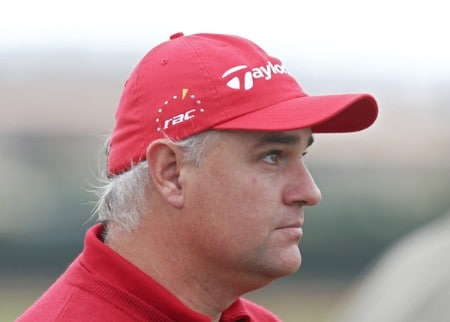 Stephen Dodd of Wales during the third round of the 2005 Algarve World Cup at the Victoria Golf Club in Vilamoura, Portugal on November 19, 2005.Photo by Phil Inglis/WireImage.com