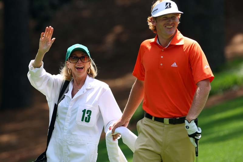 Brandt Snedeker and his mother, Candy