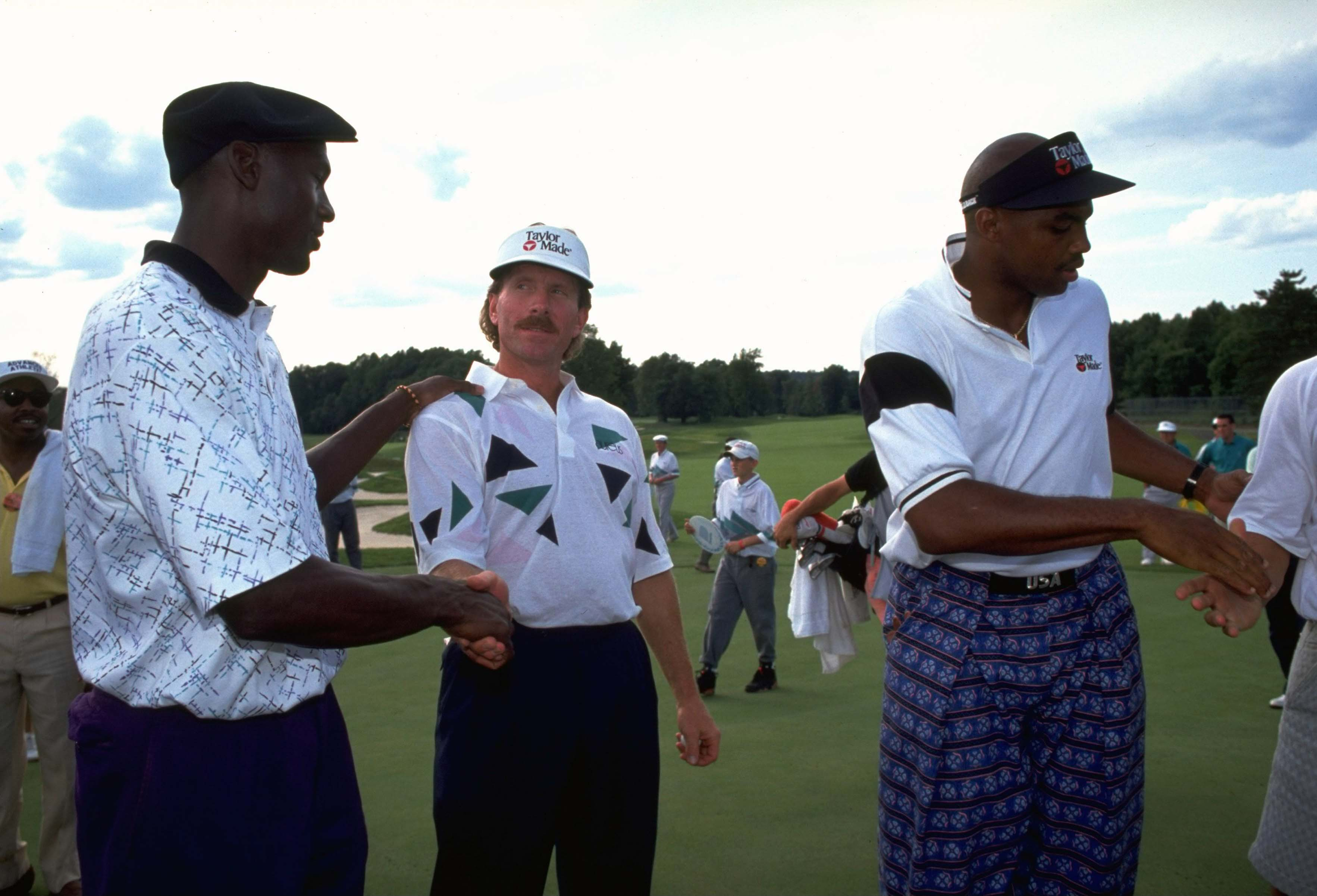 Michael Jordan, Mike Schmidt and Charles Barkley