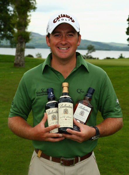 Graeme McDowell at the 2008 Scottish Open