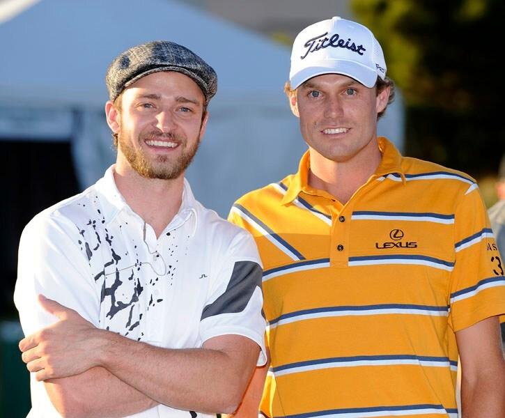 Justin Timberlake and Nick Watney