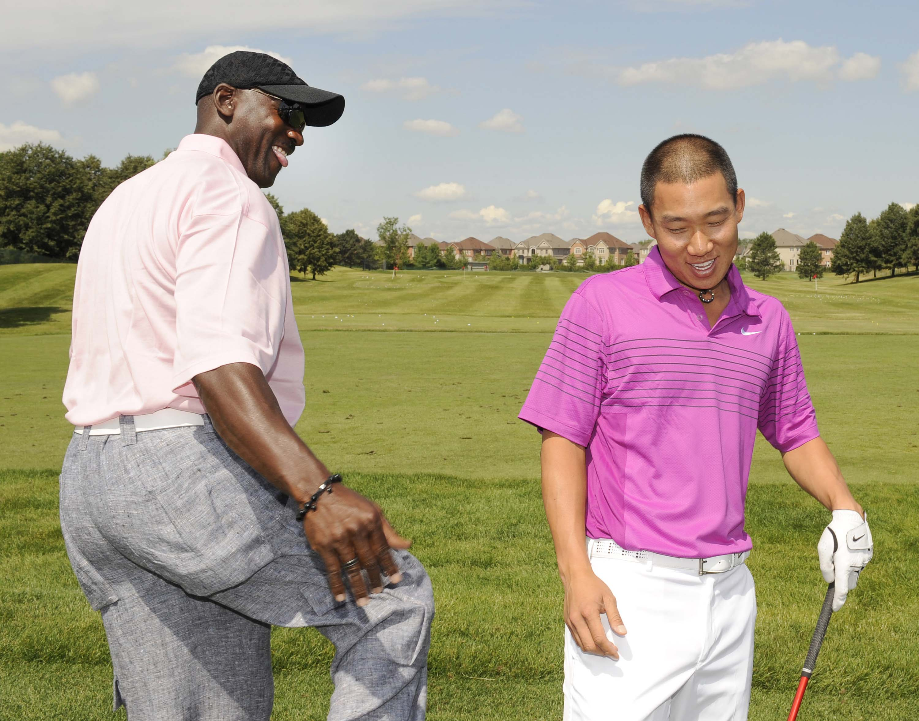 Michael Jordan and Anthony Kim