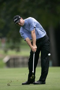 Arron Oberholser during the first round of the Buick Open at Warwick Hills Golf and Country Club in Grand Blanc, Michigan on August 3, 2006.Photo by Michael Cohen/WireImage.com
