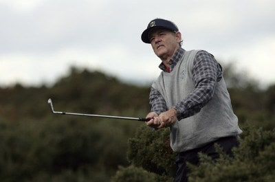 Bill Murray during the second round of the 2006 Alfred Dunhill Links Championship held on the KIngsbarns Golf Links. October 6, 2006 European Tour - 2006 Alfred Dunhill Links Championship - Second RoundPhoto by Pete Fontaine/WireImage.com