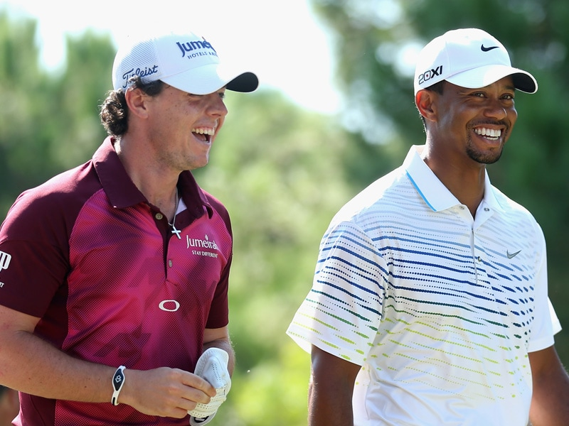 Rory McIlroy Tiger Woods friendship