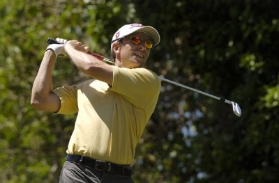 Tim Wilkinson during the second round of the Rheem Classic presented by Times Record held at Hardscrabble Country Club in Fort Smith, AR, on May 12, 2006.Photo by Steve Levin/WireImage.com
