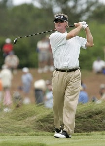 John Harris during the third and final round of the Boeing Championship at Sandestin at Raven Golf Club in Destin, Florida on May 14, 2006.Photo by Michael Cohen/WireImage.com