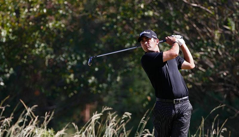 MADISON, MS - OCTOBER 02:  Martin Flores hits his drive on the 16th tee box during the third round of the Viking Classic held at Annandale Golf Club on October 2, 2010 in Madison, Mississippi.  (Photo by Michael Cohen/Getty Images)