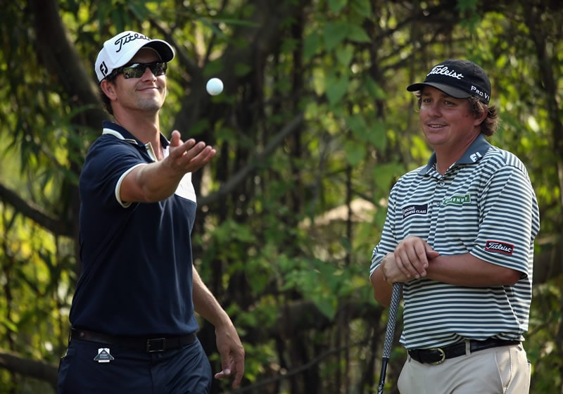 Adam Scott and Jason Dufner