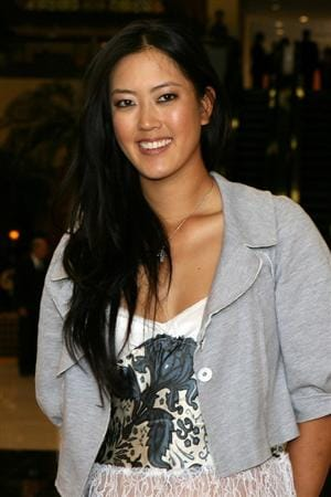 LOS ANGELES, CA - SEPTEMBER 18:  Michelle Wie smiles for a photo before a press conference to announce the Kia Classic LPGA event to be held in March of 2011 on September 18, 2010 at Industry Hills Golf Club at Pacific Palms in City of Industry, California.  (Photo by Jeff Golden/Getty Images)