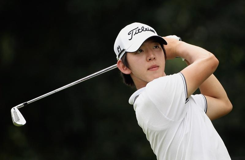 KUALA LUMPUR, MALAYSIA - MARCH 07:  Noh Seung-yul of Korea hits his tee-shot on the 16th hole during the final round of the Maybank Malaysian Open at the Kuala Lumpur Golf and Country Club on March 7, 2010 in Kuala Lumpur, Malaysia.  (Photo by Andrew Redington/Getty Images)
