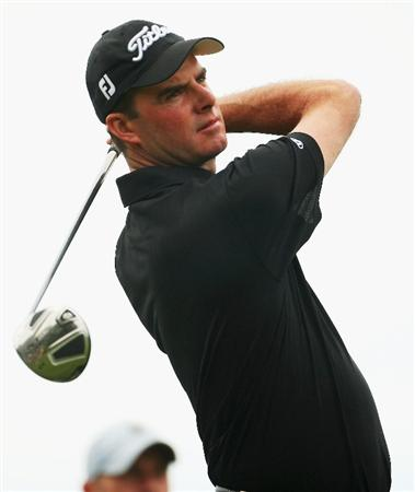 CHRISTCHURCH, NEW ZEALAND - MARCH 05: David Smail of New Zealand tees off on the 2nd hole during day two of the New Zealand PGA Championship held at the Clearwater Golf Club March 06, 2009 in Christchurch, New Zealand.  (Photo by Phil Walter/Getty Images)
