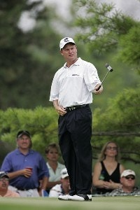 Joe Durant  during the fourth and final round of the Buick Open at Warwick Hills Golf and Country Club in Grand Blanc, Michigan on August 6, 2006.Photo by Michael Cohen/WireImage.com