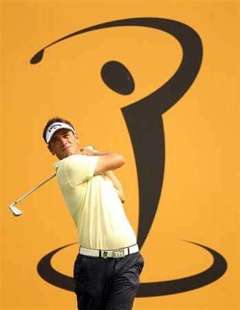 KUALA LUMPUR, MALAYSIA - APRIL 14:  Nick Dougherty of England in action during the first round of the Maybank Malaysian Open at Kuala Lumpur Golf & Country Club on April 14, 2011 in Kuala Lumpur, Malaysia.  (Photo by Ian Walton/Getty Images)