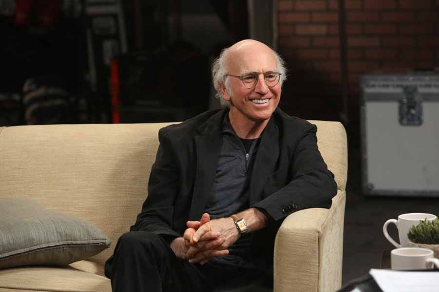 Larry David, the golf enthusiast.