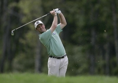 Jerry Kelly during the first round of the 2006 Deutsche Bank Championship held at TPC Boston in Norton, Massachusetts on September 1, 2006.Photo by Michael Cohen/WireImage.com