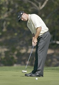 Arron Oberholser during the second round of the WGC - Accenture Match Play Championship held at La Costa Resort and Spa in Carlsbad, California, on February 23, 2006. Photo by: Stan Badz/PGA TOURPhoto by: Stan Badz/PGA TOUR