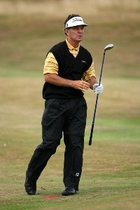Dick Mast (US) during the final round of the 2006 Senior British Open at the Westin Turnberry resort in Ayrshire, Scotland on July 30, 2006.Photo by Matthew Harris/WireImage.com