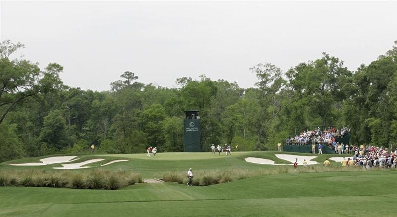 HUMBLE, TX - APRIL 02: A general view of the 14th hole during the third round of the Shell Houston Open at Redstone Golf Club on April 2, 2011 in Humble, Texas.  (Photo by Michael Cohen/Getty Images)
