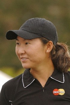 Candie Kung during the second round of the 2005 Franklin American Mortgage Championship at Vanderbilt Legends Club in Franklin, Tennessee on April 29, 2005.Photo by Al Messerschmidt/WireImage.com