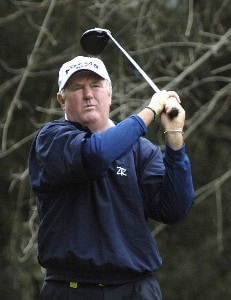 Allen Doyle in action during the first round of the 2006 AT&T Classic on Friday, March 10, 2006 at  Valencia Country Club in Valencia, CaliforniaPhoto by Marc Feldman/WireImage.com