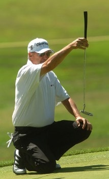 Don Pooley in action during the second round of the 2005 Boeing Greater Seattle Classic at TPC at Snoqualmie Ridge in Snoqualmie, Washington August 20, 2005.Photo by Steve Grayson/WireImage.com