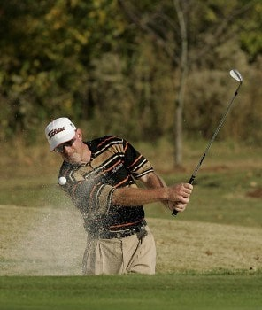 Frank Lickliter II in action during the third round of the Southern Farm Bureau Classic at Annandale Golf Club in Madison, Mississippi on November 5, 2005.Photo by Michael Cohen/WireImage.com