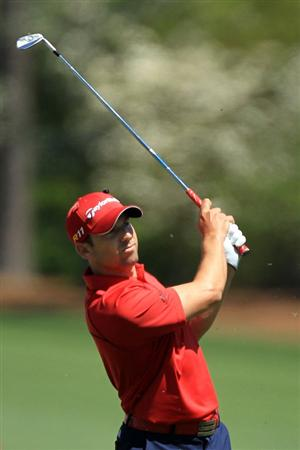 AUGUSTA, GA - APRIL 07:  Sergio Garcia of Spain watches his tee shot on the 12th hole during the first round of the 2011 Masters Tournament at Augusta National Golf Club on April 7, 2011 in Augusta, Georgia.  (Photo by David Cannon/Getty Images)