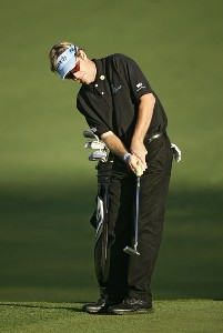 Brett Quigley during practice for the 2007  Masters at the Augusta National Golf Club in Augusta, Georgia, on April 2, 2007. The 2007 Masters - Practice - April 2, 2007Photo by Sam Greenwood/WireImage.com