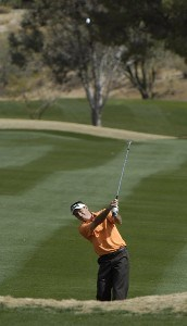 Mark Wilson in action during the third round of the 2006 Chrysler Classic of Tucson on Saturday, February 25, 2006 at the Omni Tucson National Golf Resort and Spa in Tucson, ArizonaPhoto by Marc Feldman/WireImage.com