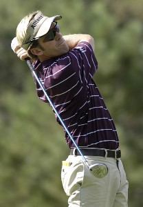 Brett Quigley during the first round of 'The International' at Castle Pines Golf Club on Thurday, August 10, 2006 in Castle Rock, ColoradoPhoto by Marc Feldman/WireImage.com