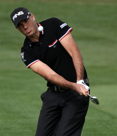 DOHA, QATAR - FEBRUARY 03:  Gregory Havret of France during the first round of the Commercialbank Qatar Masters at the Doha Golf Club on February 3, 2011 in Doha, Qatar.  (Photo by Ross Kinnaird/Getty Images)