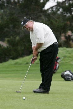 Defending Champion Craig Stadler in action during the first round of the 2005 Wal-Mart First Tee Open at Pebble Beach Golf Links, on September 2,2005. The event is being held at Pebble Beach Golf Links & Del Monte G.C., Pebble Beach, Ca.Photo by Stan Badz/PGA TOUR/WireImage.com