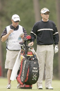 Philip Golding during the third round of the 2005 KLM Open at Hilversumsche Golf Club in the Netherlands on June 11, 2005.Photo by Pete Fontaine/WireImage.com
