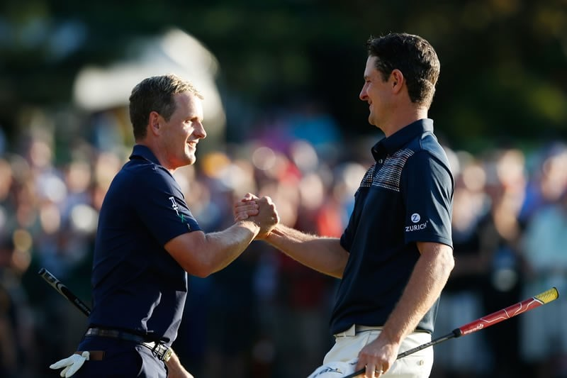 Luke Donald and Justin Rose
