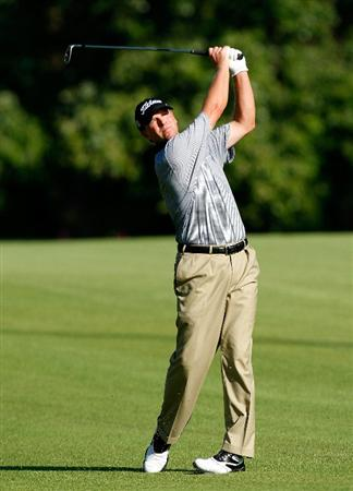 ATLANTA, GEORGIA - SEPTEMBER 24:  Steve Stricker plays his second shot from the 14th fairway during the first round of THE TOUR Championship presented by Coca-Cola, the final event of the PGA TOUR Playoffs for the FedExCup, at East Lake Golf Club on September 24, 2009 in Atlanta, Georgia.  (Photo by Kevin C. Cox/Getty Images)