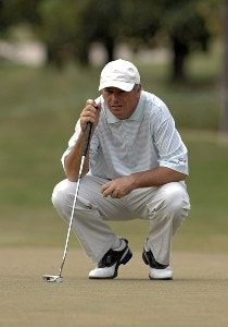 Paul Goydos during the second round of the 2006 Chrysler Championship on October 27, 2006 in Palm Harbor, Florida.   Photo by Al Messerschmidt/WireImage.com