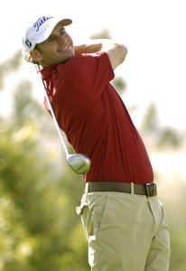 Roger Tambellini in action during the first round of the Bob Hope Chrysler Classic at The Classic Club in Palm Desert, California  on Wednesday,  January 18, 2006.Photo by Marc Feldman/WireImage.com