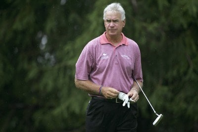 Bruce Fleisher during the second round of the Commerce Bank Championship on the Red Course at Eisenhower Park  in East Meadow, New York on June 24, 2006.Photo by Michael Cohen/WireImage.com