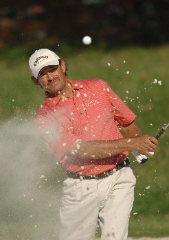 Carlos Franco during the first round of THE PLAYERS championship at the Tournament Players Club at Sawgrass in Ponte Vedra Beach, Florida on March 24, 2005.