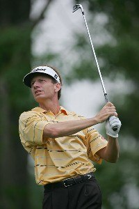 Brad Faxon during the second round the 2006 Wachovia Championship at the Quail Hollow Club in Charlotte, North Carolina on May 5, 2006.Photo by Sam Greenwood/WireImage.com