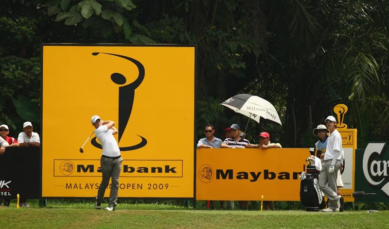 KUALA LUMPUR, MALAYSIA - FEBRUARY 14:  Alexander Noren of Sweden in action during the 3rd round of the 2009 Maybank Malaysian Open at Saujana Golf and Country Club on February 14, 2009 in Kuala Lumpur, Malaysia.  (Photo by Ian Walton/Getty Images)